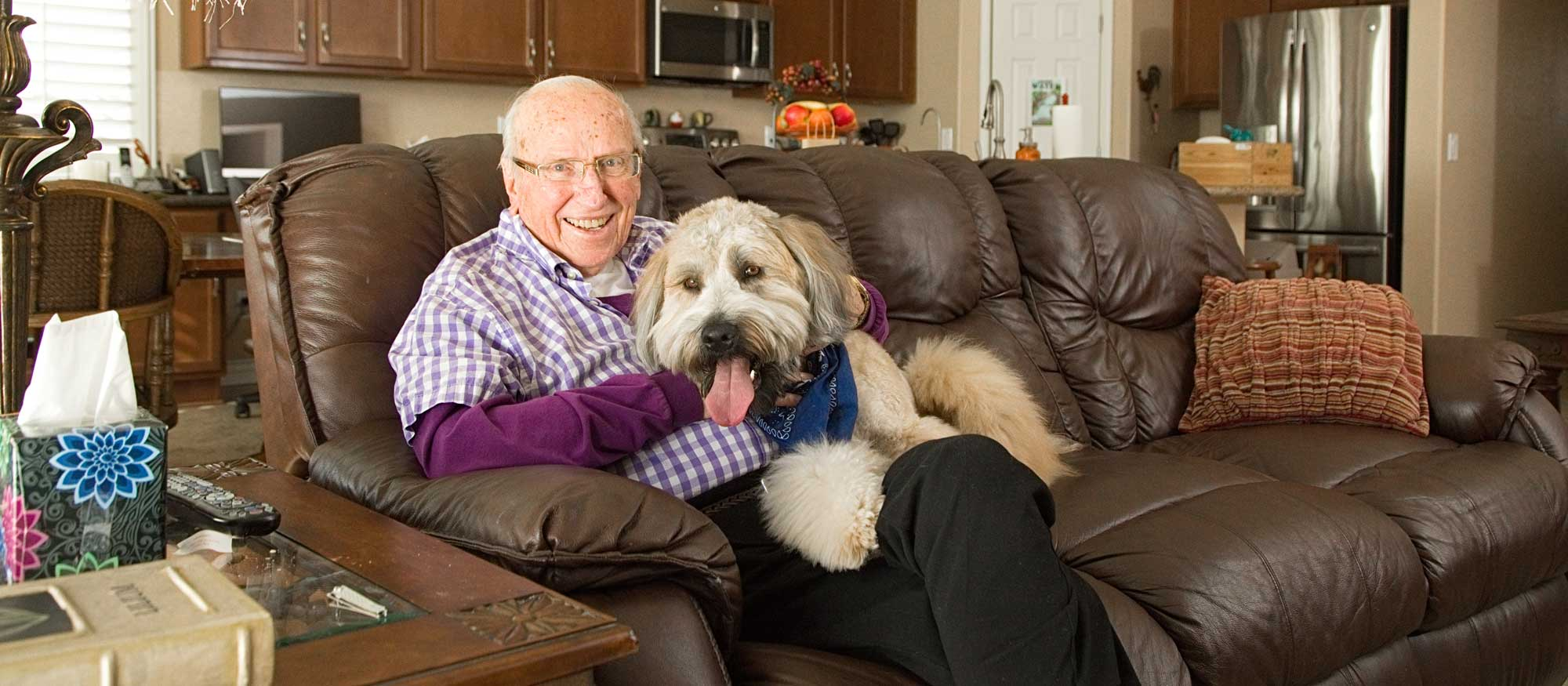 Pet Therapy At Home